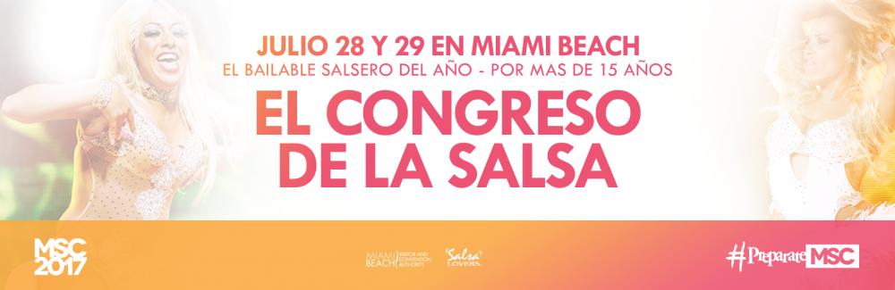El Congreso Anual de la Salsa subirá la temperatura en Miami