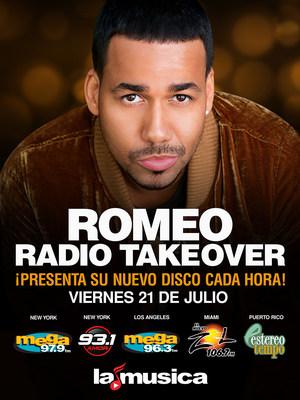 Romeo Santos se adueña de SBS Radio