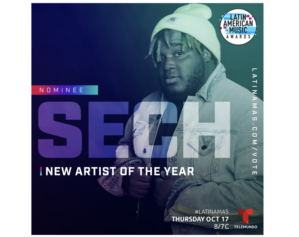 Panama has a new star on the rise! Sech