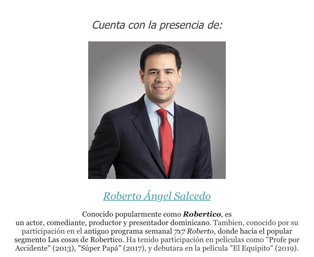 Roberto Ángel Salcedo Equipito