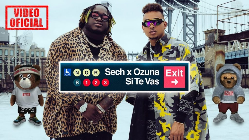 "Three time Grammy Nominated Sech Teams Up with Ozuna to Release explosive New collaboration ""Si Te Vas"""