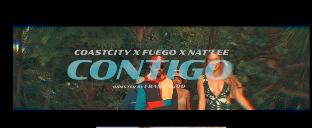 "COASTCITY Lanza Video Nostálgico ""Contigo"" Junto a Fuego y Nat'Lee"