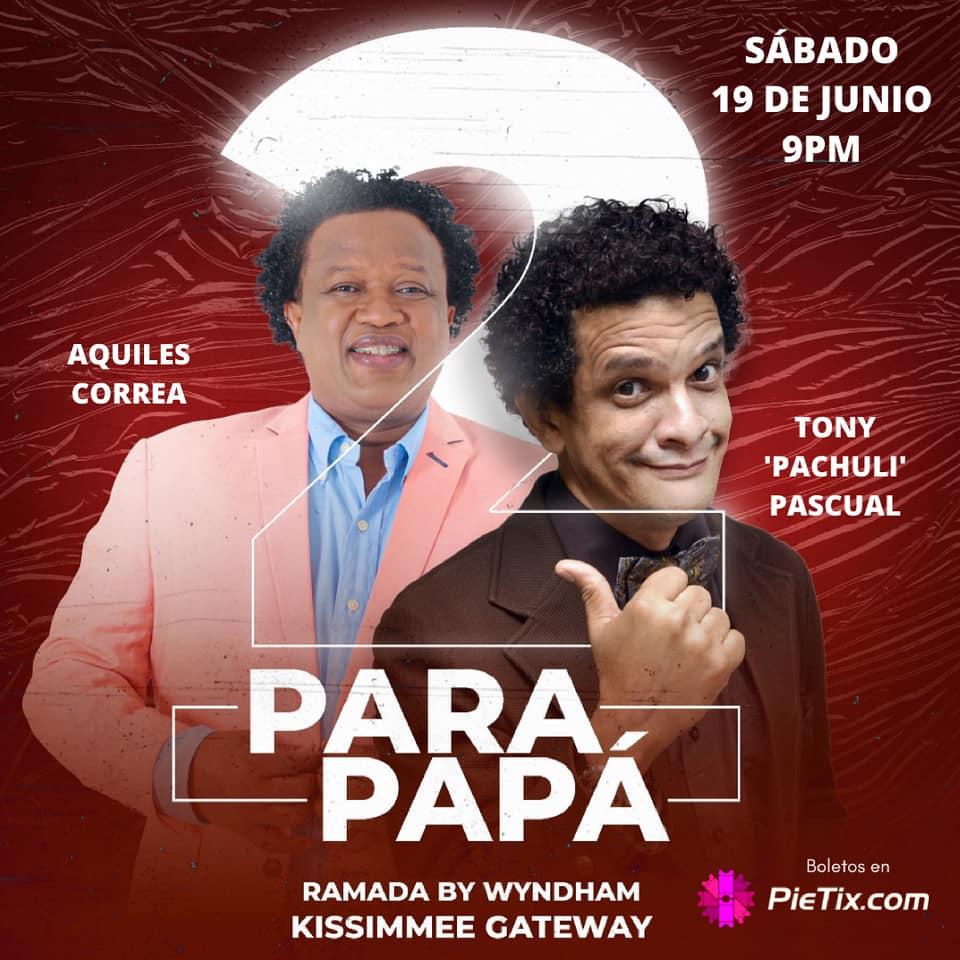 Aquiles Correa y Tony Pascual